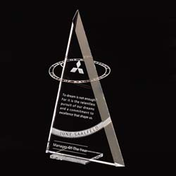 Circle Of Excellence Award - UltimateCrystalAwards.com