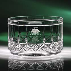 Concerto Crystal Bowl | Personalized Gifts - UltimateCrystalAwards.com