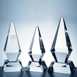 Crystal Excellence Award - UltimateCrystalAwards.com