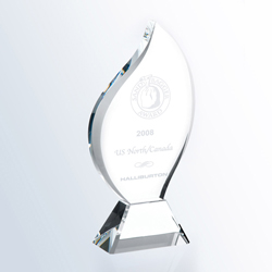 Crystal Flame Appreciation Award - UltimateCrystalAwards.com