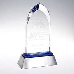 Crystal Outstanding Achievement Award - UltimateCrystalAwards.com