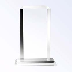 Crystal Simple Plaque Award - UltimateCrystalAwards.com