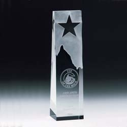 Crystal Star Trophy - UltimateCrystalAwards.com