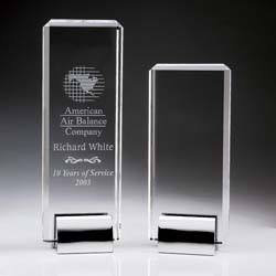 Crystal Tower Award - UltimateCrystalAwards.com