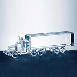 Crystal Truck Trophy - UltimateCrystalAwards.com