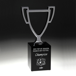Designer Champion Trophy - UltimateCrystalAwards.com