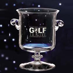 Glass McKinley Championship Cup | Golf Trophy - UltimateCrystalAwards.com