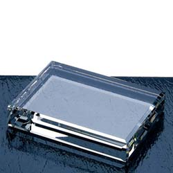 Rectangle Crystal Paperweight | Crystal Corporate Gifts - UltimateCrystalAwards.com