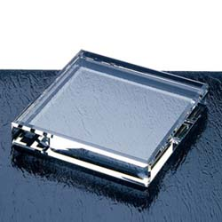 Square Crystal Paperweight | Personalized Corporate Gifts - UltimateCrystalAwards.com