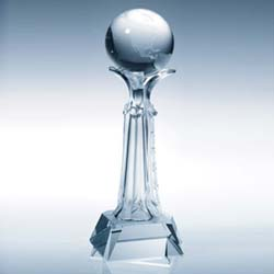 Architecture Crystal Globe Award - UltimateCrystalAwards.com