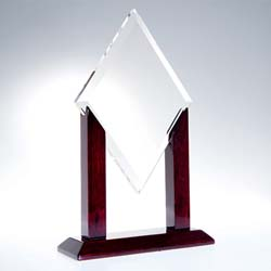 Crystal Alpha Diamond Award - UltimateCrystalAwards.com