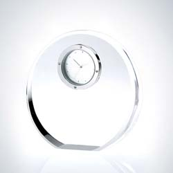 Crystal Circle Executive Clock