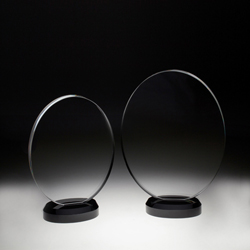 Crystal Circle Plaque - UltimateCrystalAwards.com