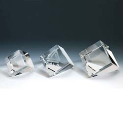 Crystal Cube Paperweight | Personalized Corporate Gifts - UltimateCrystalAwards.com