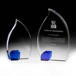 Crystal Flame Award - UltimateCrystalAwards.com