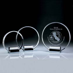 Crystal Recognition Plaque - UltimateCrystalAwards.com