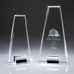 Crystal Rising Award - UltimateCrystalAwards.com