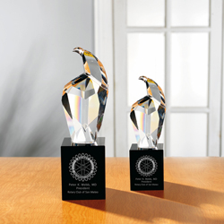 Elegant Crystal Eagle Awards