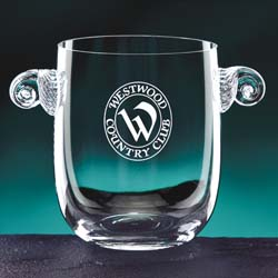 Glass Atelier Engravable Ice Bucket | Personalized Gifts - UltimateCrystalAwards.com