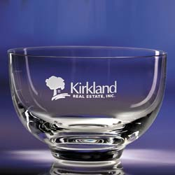 Circa Personalized Bowl | Personalized Corporate Gifts - UltimateCrystalAwards.com