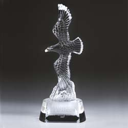 Grand Crystal Eagle Award | Soaring Eagle Award | Eagle Trophy - UltimateCrystalAwards.com