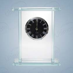 Palace Executive Clock | Personalized Corporate Gifts - UltimateCrystalAwards.com