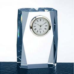 Prestige Crystal Clock | Personalized Corporate Gifts - UltimateCrystalAwards.com