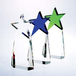 Triumphant Crystal Star Award - UltimateCrystalAwards.com